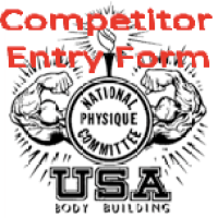 Entry Form NPC WA State Open Bodybuilding Figure Fitness Bikini Physique Championship