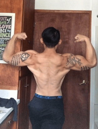 Paul Saelee Transformation contest