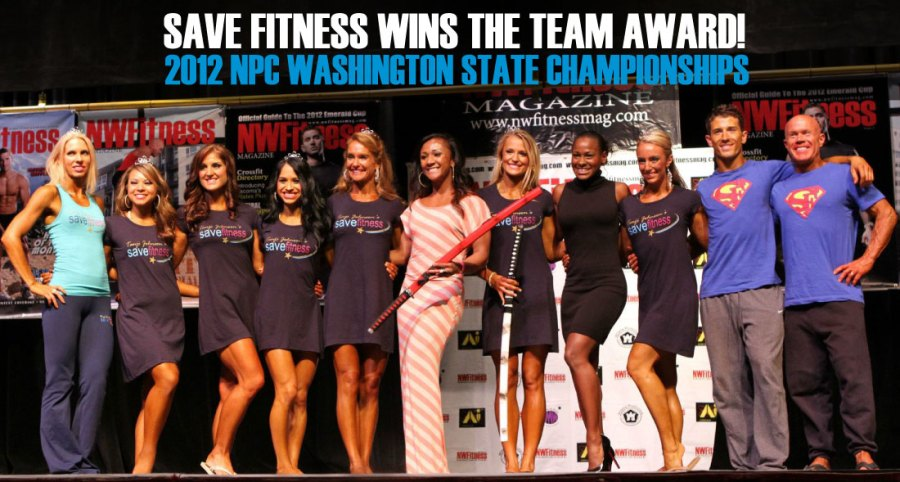 TANJI JOHNSON AND SAVE FITNESS AT THE NPC WA STATE BODY BUILDING FIGURE FITNESS BIKINI CHAMPIONSHIP