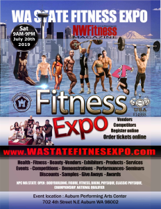2019 Expo Wa State Fitness Expo