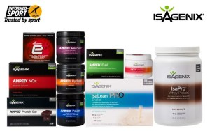 Isagenix AMPED - Wa State Fitness Expo - vendor - exhibitor - sponsor