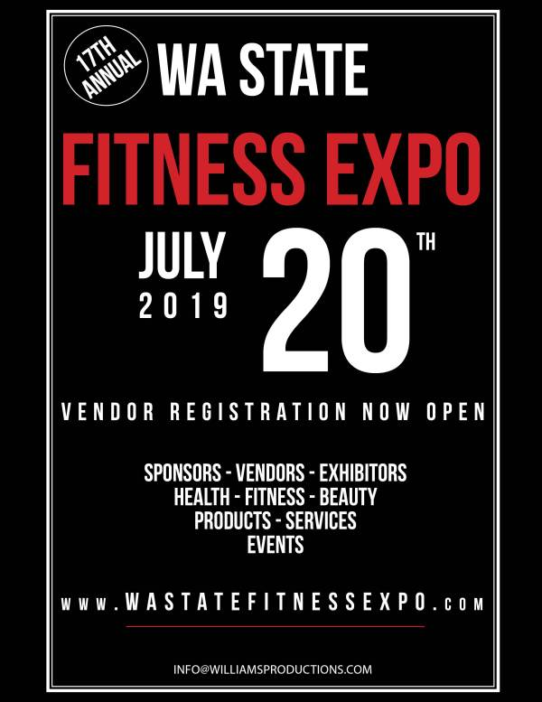 NW Fitness Magazine - 2019 Wa State Fitness Expo Event Program Issue