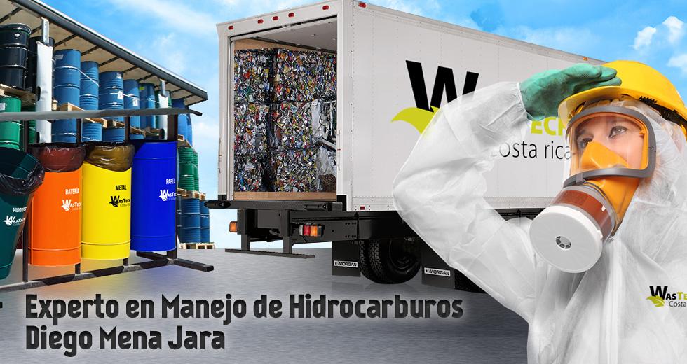 Experto en Manejo de Hidrocarburos – Diego Mena Jara
