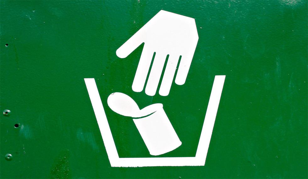 entorno libre residuos contaminantes