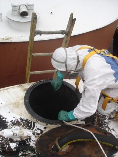 Limpieza Tanques Almacenamiento Hidrocarburos