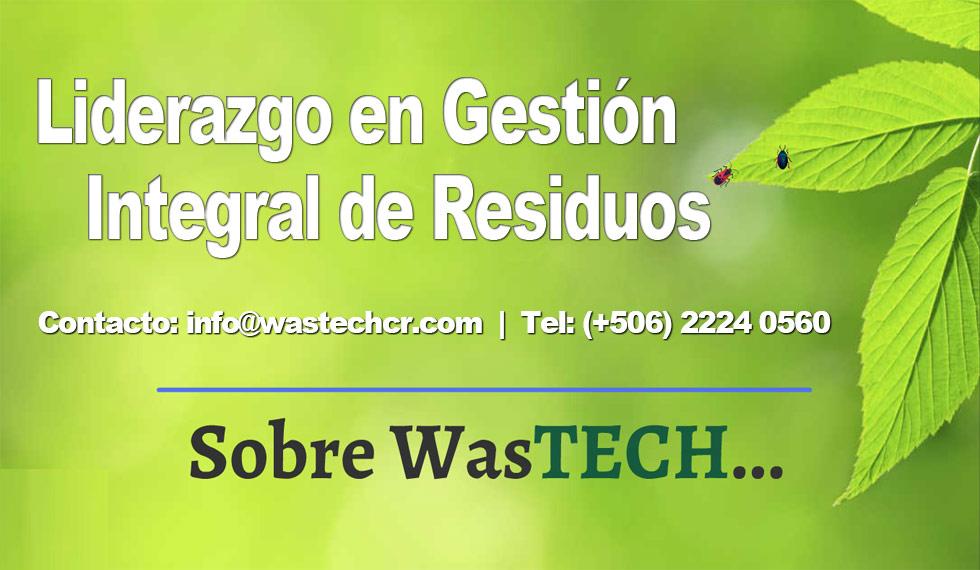 WasTech: Liderazgo en Gestión Integral de Residuos