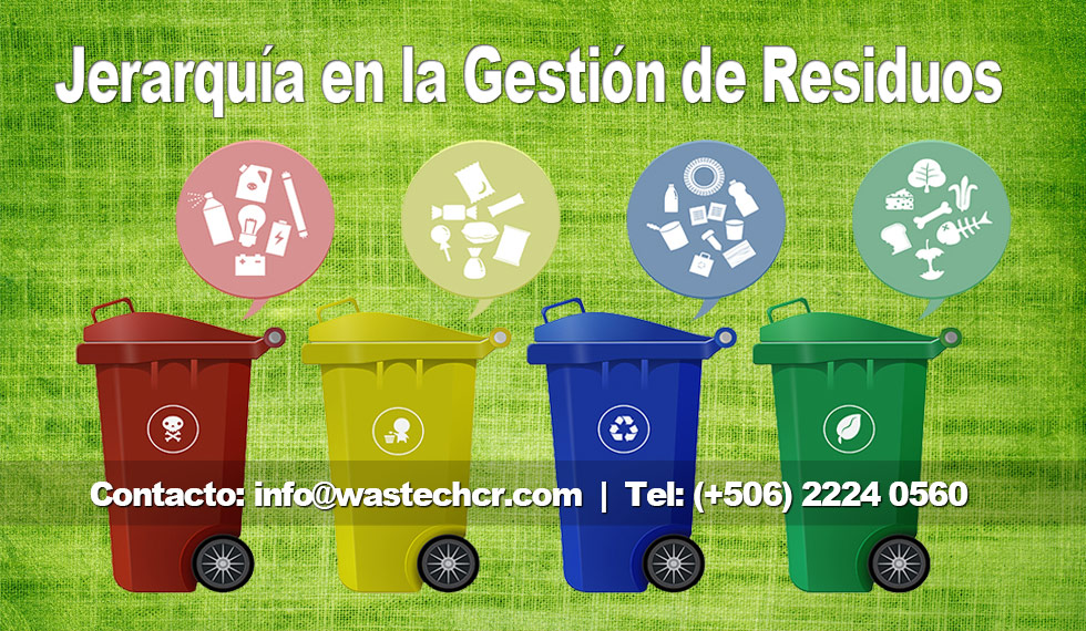 La Jerarquía en la Gestión de Residuos