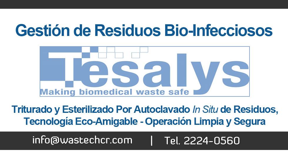 Tesalys: Gestión de Residuos Bio-Infecciosos