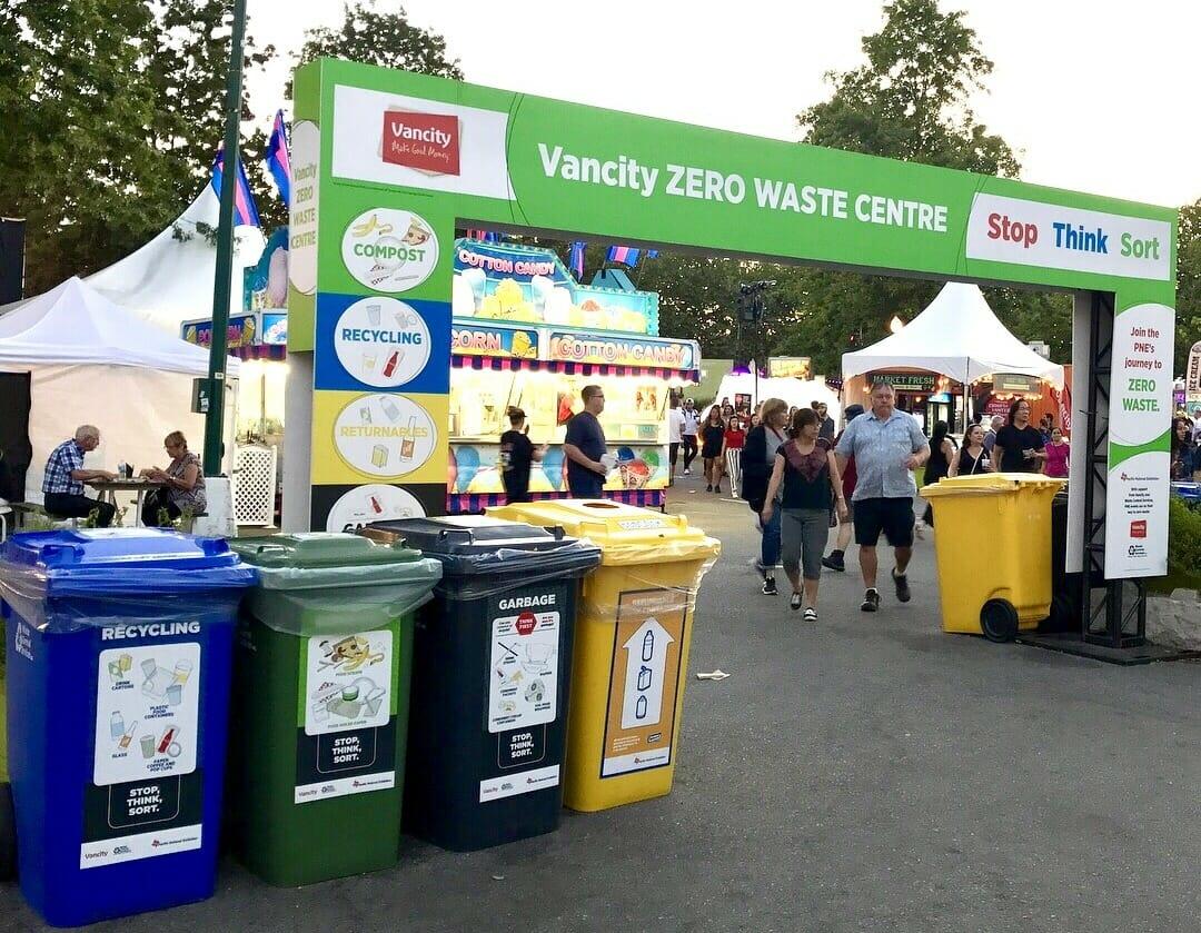 Binners Project Wcs Part Of Pne Team Working Toward Zero Waste
