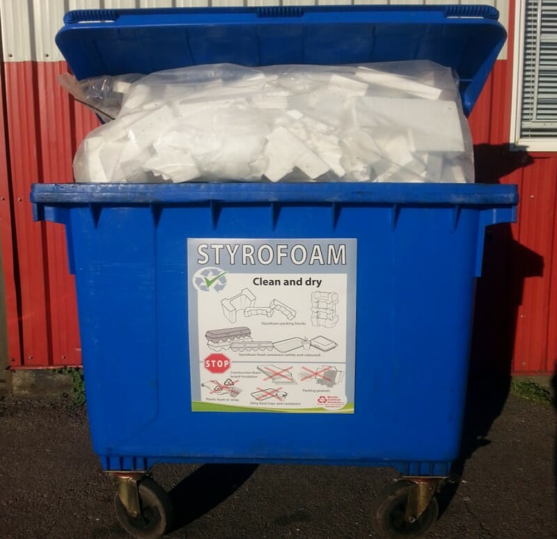 Styrofoam Recycling Now Required In Vancouver Waste Control Services