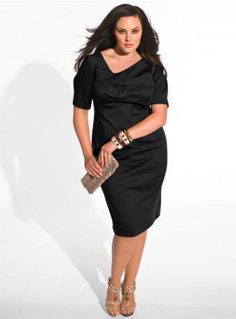 Veronique Dress in Black by IGIGI