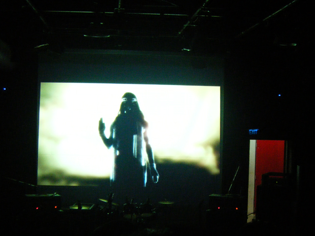Still image from the Hymns from the Blazing Chariot MV