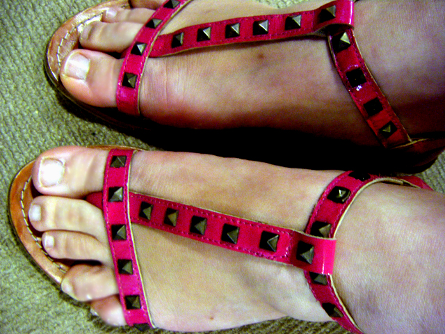 Strappy sandals from EVANS