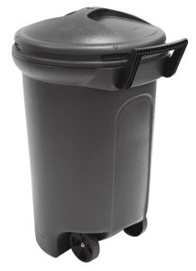 Best Outdoor Trash Receptacles with Locking Lids and Wheels