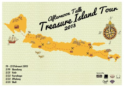 AFTERNOON TALK – Treasure Island Tour 2013 | WASTED ROCKERS