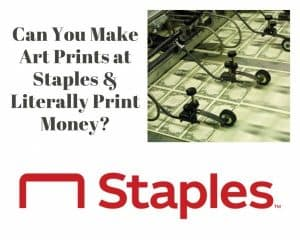 making art prints at staples all your