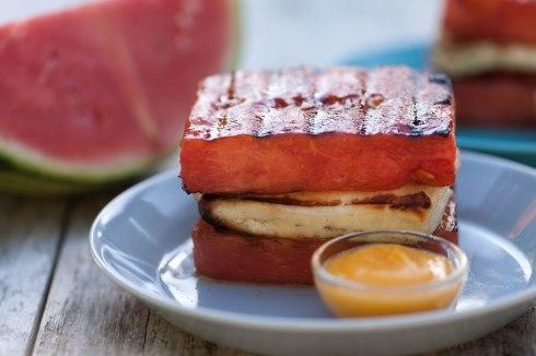 WATERMELON: Grilled watermelon salad
