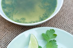 CILANTRO: Ek Balam cilantro soup