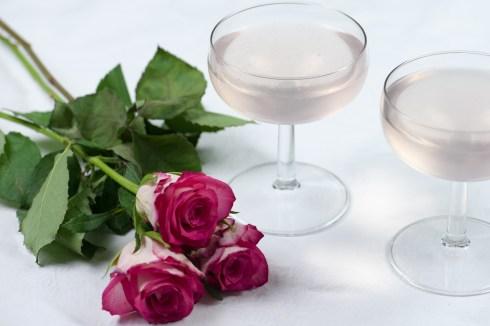 ROSE PETALS: Rose sherbet