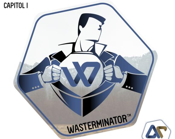 Wasterminator supereroul dintre noi – Calatoria spre timp (Capitol I)