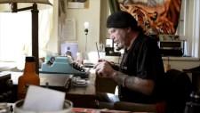 Henry at typewriter