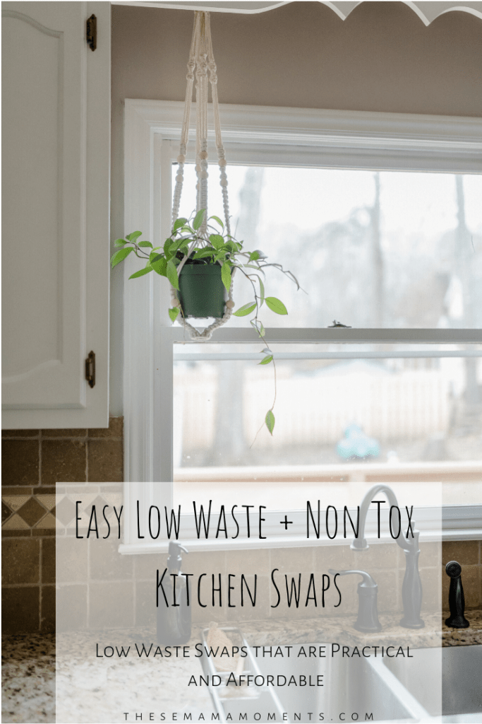 low waste kitchen swaps