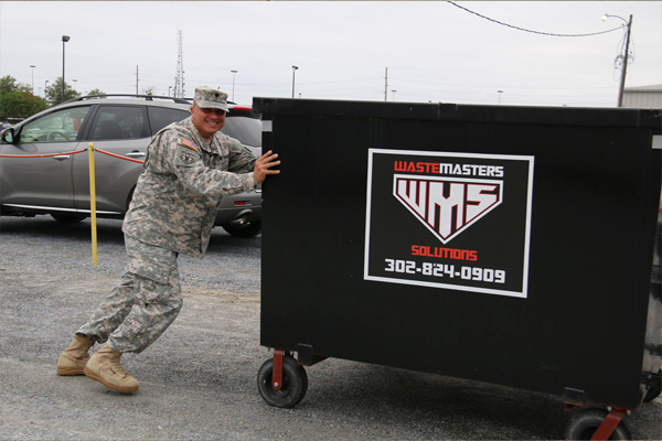 WASTEMASTERS SOLUTIONS SUPPORTS OUR TROOPS
