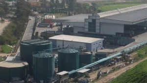 Image shows an Arrowbio MBT with anaerobic digestion plant.