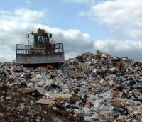 Landfill compactors will be Halving Landfilled Waste by 2012.
