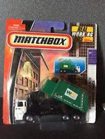 Image showing Mattel Matchbox 2009 Autocar ACX Garbage Truck.