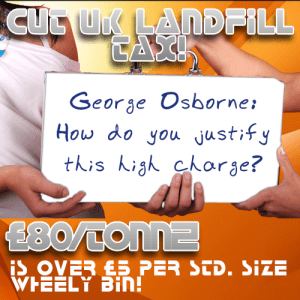 cut UK landfill tax