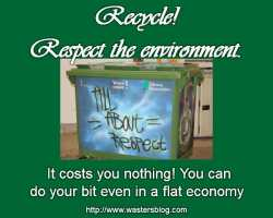 Image about Household recycling - Facts About Recycling explaining the need for recycling.