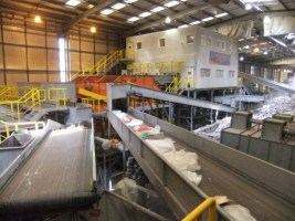 Image showing plastics recycling at Bywaters Recycling.