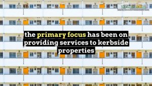 focus on kerbside properties