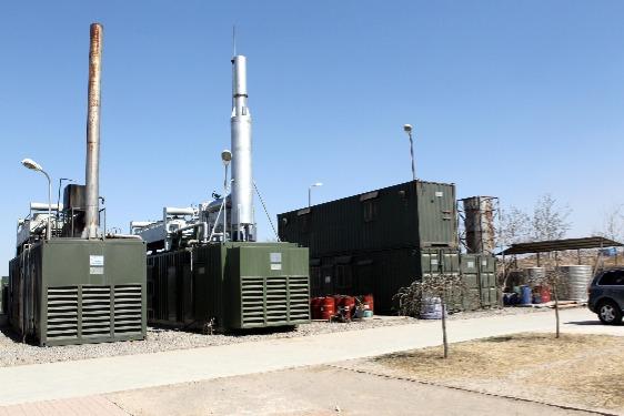 Image about Rockingham County landfill gas utilisation profits.