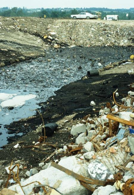 Image showing Germantown Landfill - hazardous waste landfill.