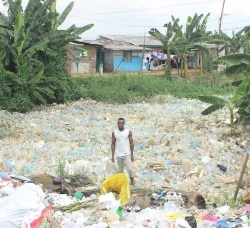waste plastic in cameroon