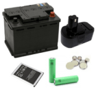 Rechargeable batteries are considered household toxins and should be recycled.