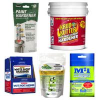 waste paint hardeners