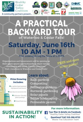 A Practical Backyard Tour on June 16th