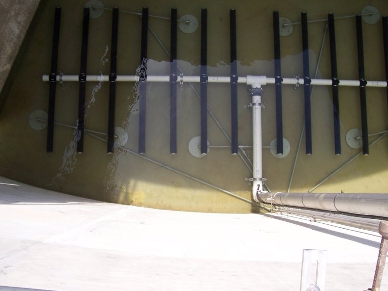 wastewater swing zone mixing solutions pulsed air