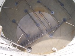 wastewater treatment plant mixing system