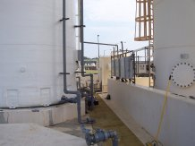 large bubble wastewater mixing system