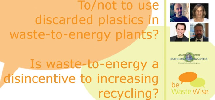 Plastics and Green House Gas Emissions from Waste-to-Energy