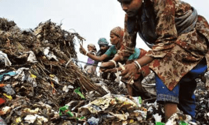 Indian waste pickers; Source: TheGuardian.com