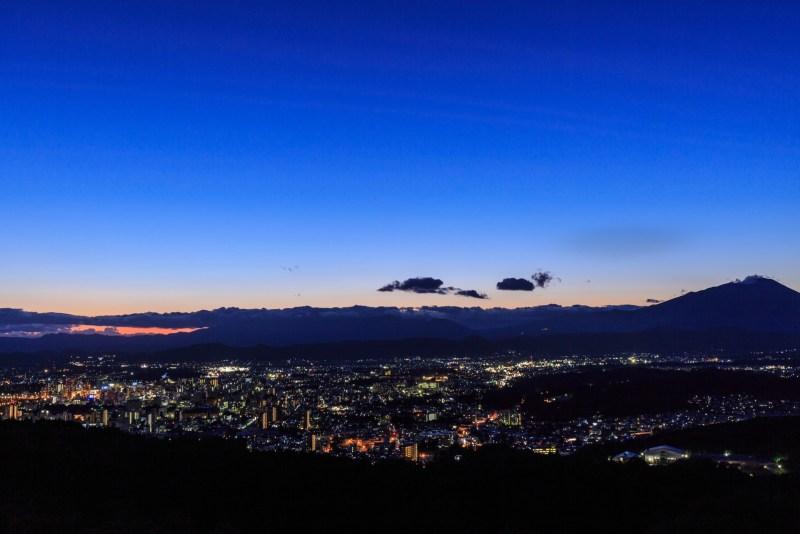 盛岡市の夜景