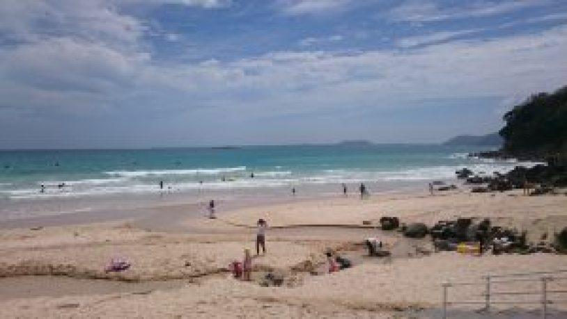海もさることながら、砂がサラサラ