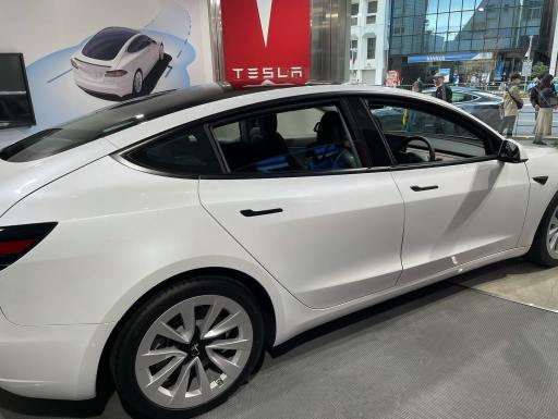 Appearance of Tesla Model 3