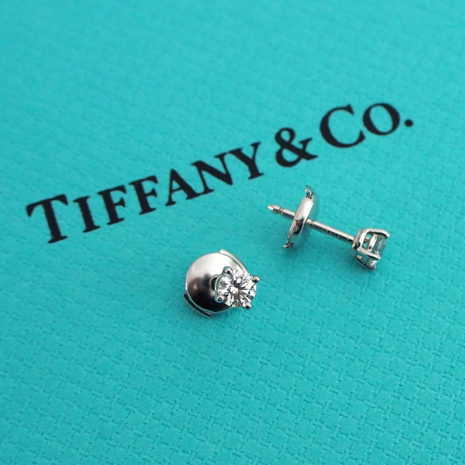 size 40 5cadd bfe8f ミニマリストのピアス・ティファニーのダイヤモンド | モノ ...