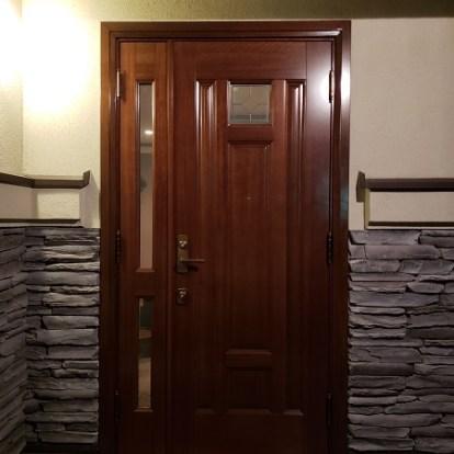 親子ドアの再塗装一覧